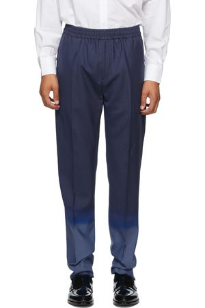 Givenchy Navy & Wool Jogger Trousers