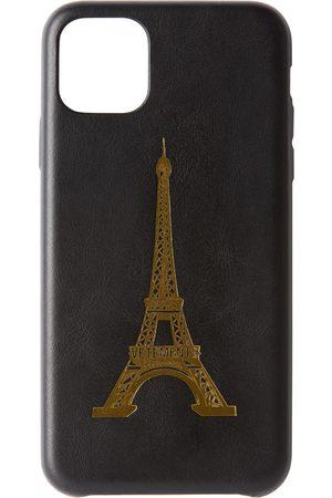 VETEMENTS Black Eiffel Tower iPhone 11 Pro Max Case