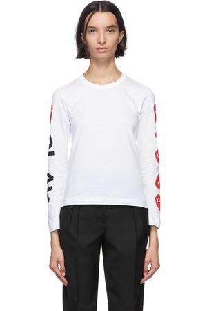 Women Long Sleeve - Comme des Garçons Play Multi Heart Long Sleeve T-Shirt