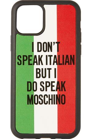 Moschino Black Italian Slogan iPhone 11 Pro Case