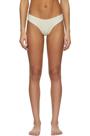 SKIMS Off- Cotton Dipped Thong