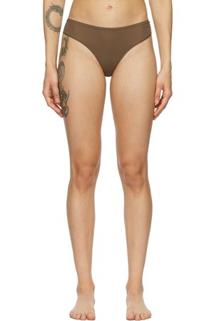 SKIMS Brown Fits Everybody Thong