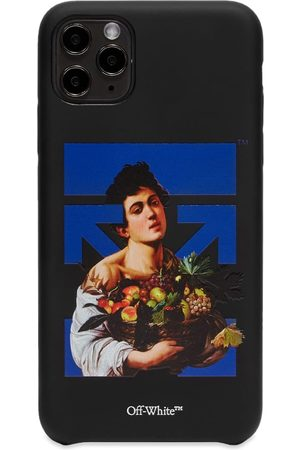 OFF-WHITE Men Phone Cases - Caravag Boy iPhone 11 Pro Max Cover