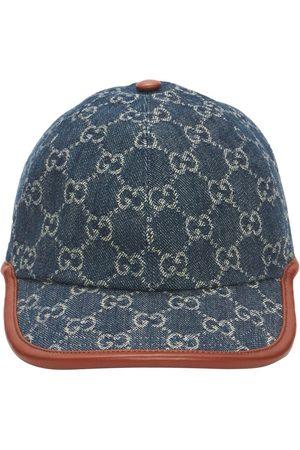 Gucci Gg Vintage Effect Baseball Cap