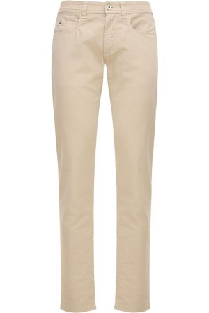 Loro Piana 18cm Stretch Cotton Jeans