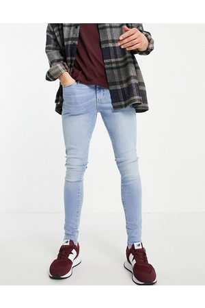 River Island Spray on jeans in light