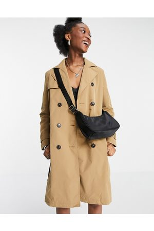 New Look Classic trench coat in camel