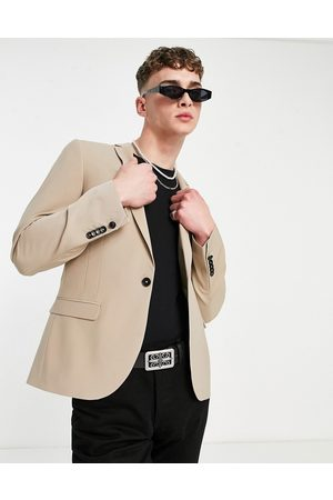 Twisted Tailor Suit jacket with wool mix in stone