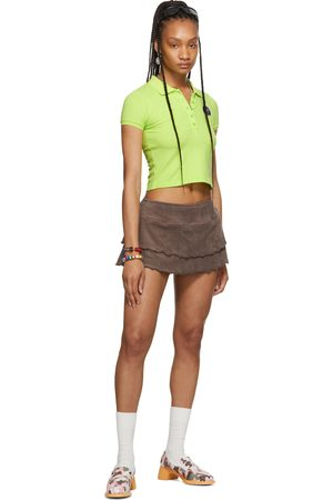 Women Polo Shirts - I'm Sorry by Petra Collins SSENSE Exclusive Shrunken Polo