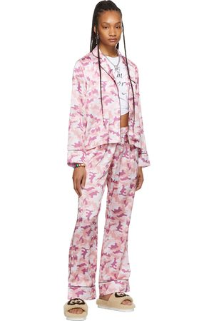 I'm Sorry by Petra Collins SSENSE Exclusive Camo Pajama Set