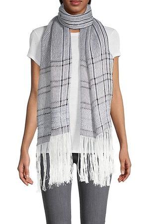 RAG&BONE Scarves - Kara Playa Striped Linen-Blend Scarf