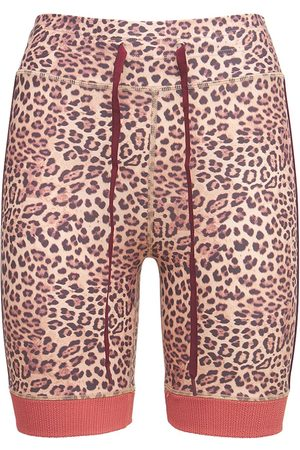 The Upside Leopard Spin Shorts
