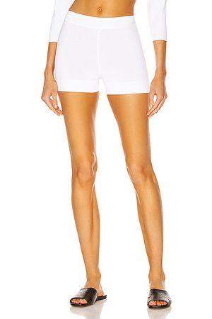 Alaïa Women Shorts - Biker Short in Blanc