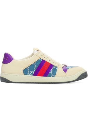 Gucci 30mm Screener Sneakers W/ Web