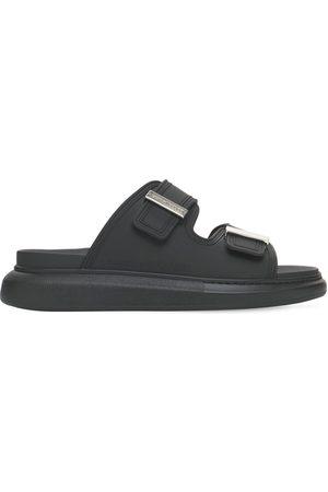 Alexander McQueen 50mm Rubber Slide Sandals