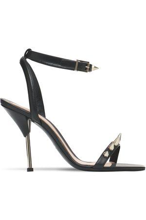 Alexander McQueen Women Platform Sandals - 90mm Leather Sandals
