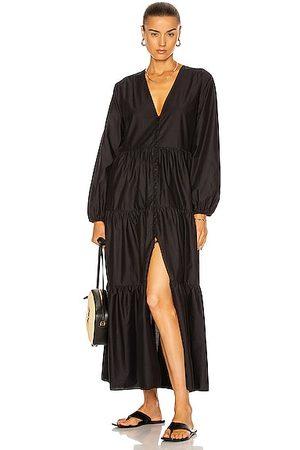 MATTEAU Long Sleeve Button Dress in