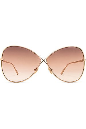 Tom Ford Nickie Sunglasses in Shiny Rose