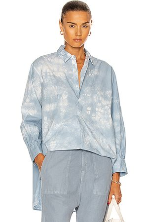NILI LOTAN Ambrose Tunic Top in Light Tie Dye