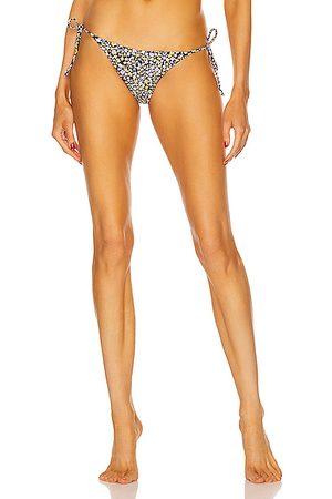 MATTEAU String Bikini Bottom in Wild Primrose