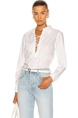 NILI LOTAN Women Tops - Lace Up Top in