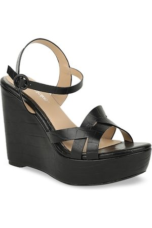 marie claire Women Wedges - Women Black Solid Wedges
