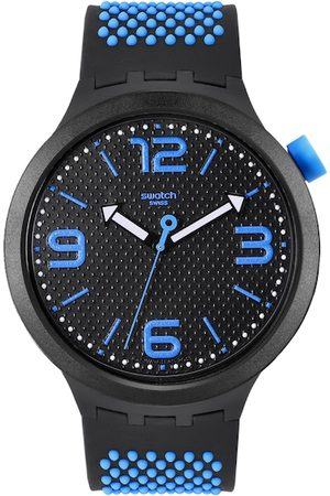 Swatch Unisex Black Swiss Made Analogue Watch SO27B101