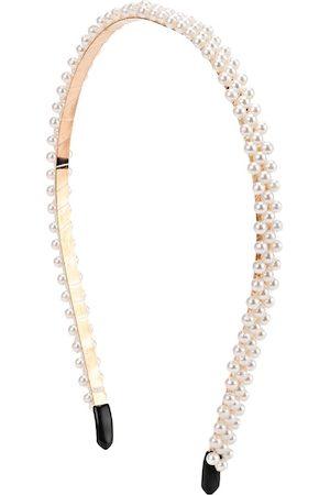 Kazo Women White Embellished Hairband