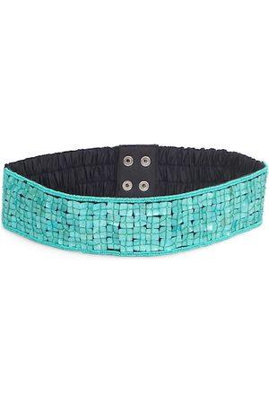 Diwaah Women Green & Black Embellished Belt
