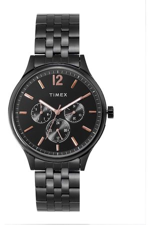 Timex Men Black Analogue Watch TWEG18405