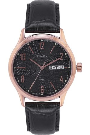 Timex Men Black Analogue Watch TW0TG6516