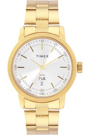 Timex Men Watches - Men Silver-Toned Analogue Watch TW000G915