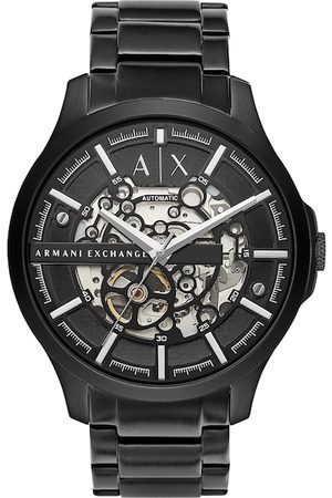 Armani Men Black Hampton Analogue Watch AX2418