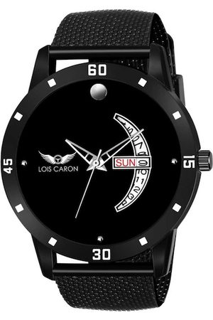 LOIS CARON Men Black Analogue Watch MLC-8165