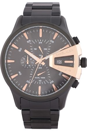 Daniel Klein Men Black Analogue Watch DK.1.12388-3
