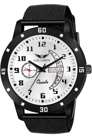 LOIS CARON Men White Analogue Watch MLC-8186