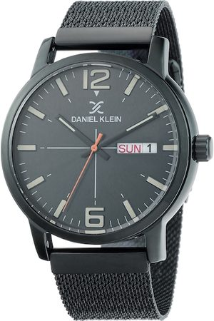 Daniel Klein Men Black Analogue Watch DK.1.12370-6