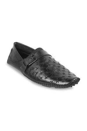 Metro Men Textured Suede Loafers Casual Shoes