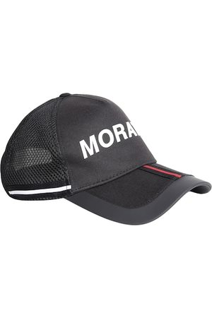 Antony Morato Men Caps - Men Black & White Printed Snapback Cap