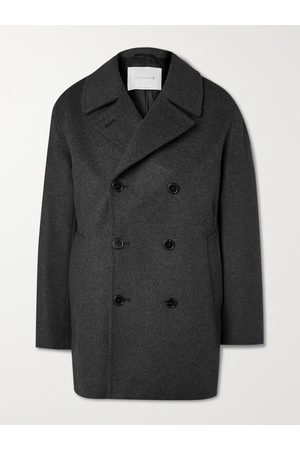 MACKINTOSH Dalton Wool and Cashmere-Blend Peacoat