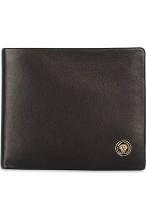 Cross Men Brown Solid Leather Two Fold Wallet