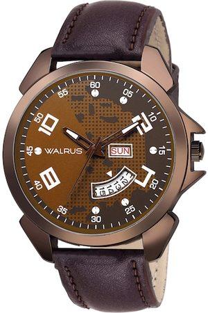 WALRUS Men Brown Analogue Watch