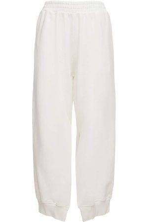 MM6 MAISON MARGIELA Women Sports Trousers - Cotton Jersey Sweatpants