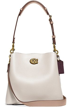 Coach Willow Colorblock Leather Bucket Bag