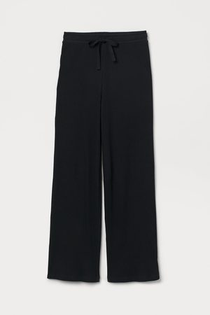 H&M Ribbed pyjama bottoms
