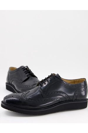 Base London Orion brogues in leather
