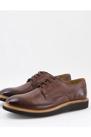 Base London Draco derby shoes in leather