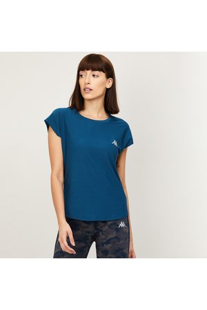 Kappa Women Solid Round Neck T-shirt