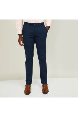 Code Men Solid Slim Tapered Fit Chinos