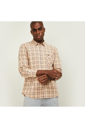 Parx Men Checked Slim Fit Casual Shirt